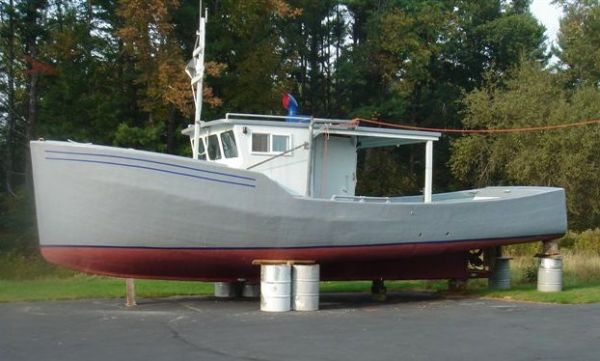 Wood/Fiberglass East Coast Fishing Vessel Photo 1