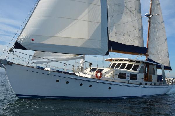 Astilleros Ortholan Manuel Campos Ketch Sailing