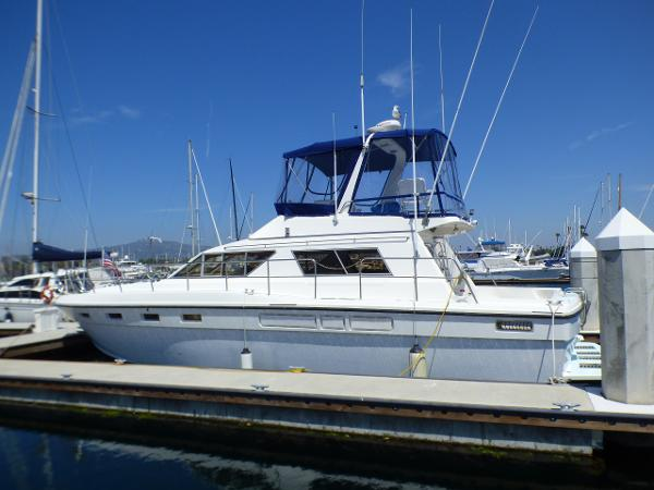 Sea Hawk 48 Portside Profile