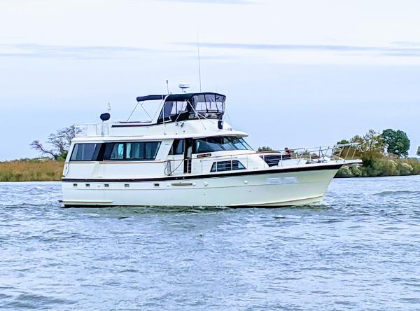 Hatteras 58 Motoryacht Stella di Mare 58' Hatteras 1979 USCG Certified