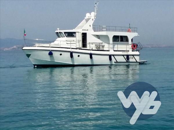 Custom Cantieri Gaeta Navetta Eagle 16 yfw83312-16313-...