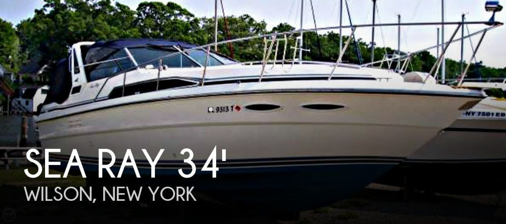 Sea Ray 340 Express Cruiser 1988 Sea Ray 340 Express Cruiser for sale in Wilson, NY