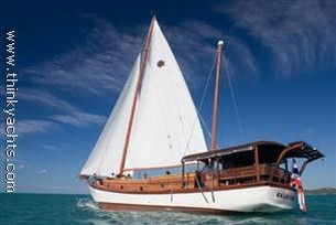 Traditional Indonesian Built Charter Vessel Wooden Ketch 'Phinisi' Pinisi Photo 1