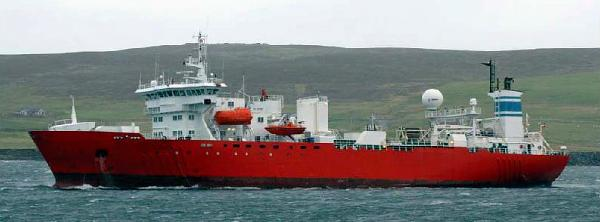 Custom Seismic Survey Vessel