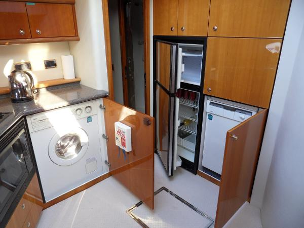 Dishwasher, washing machine, fridge, freezer