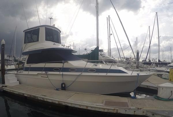 Mediterranean 38 Sport Fisher Starboard View