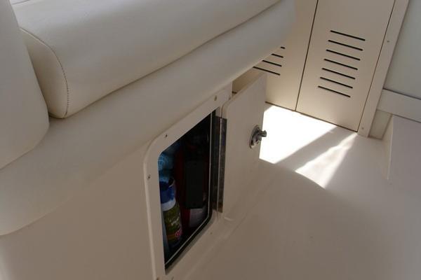 Under Companion Seat Storage