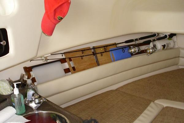 Rod Holders And Hull Side Storage