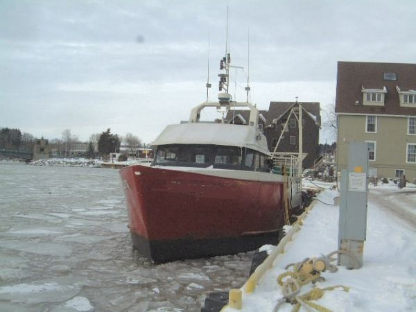 Steel Great Lakes Fishing Vessel/Work Boat Photo 1