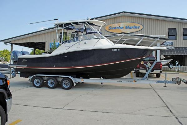 Scout Boats ABACO 280 Scout Boats ABACO 280- hull view