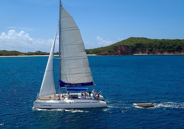 CIM Nemo 16 A la voile / Sailing