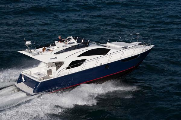 Mares 45 Catamaran Flybridge Main Profile