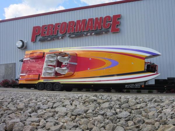 Skater 46 Custom Race Boat