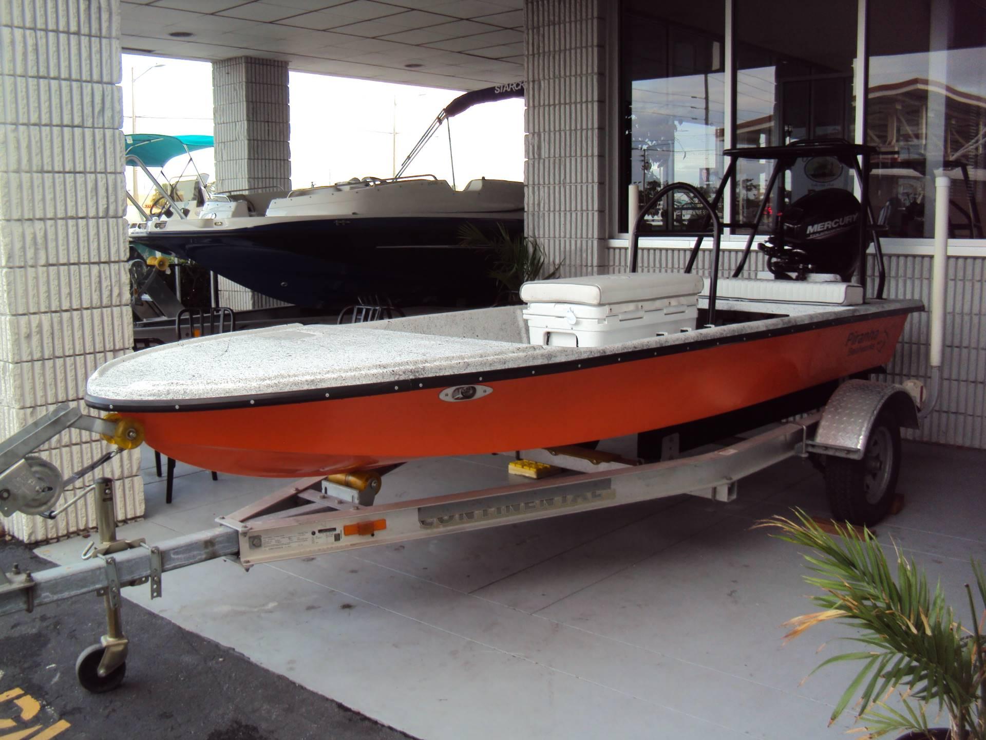 Piranha Boatworks 140T Raso