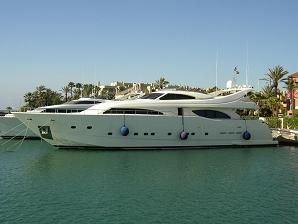 Ferretti Yachts  94 Customline  Boat shot