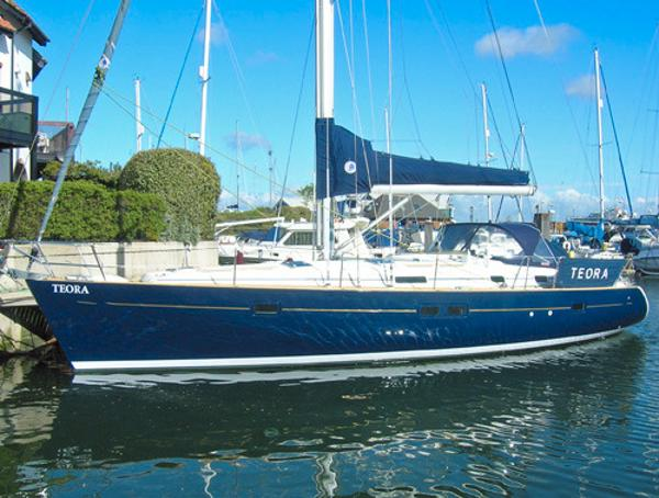 Beneteau 411 Celebration Owners version Beneteau 411 Celebration afloat