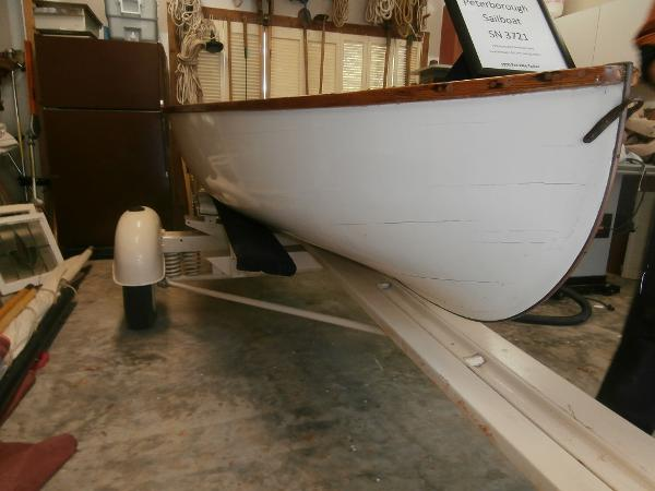Peterborough Sailing Skiff