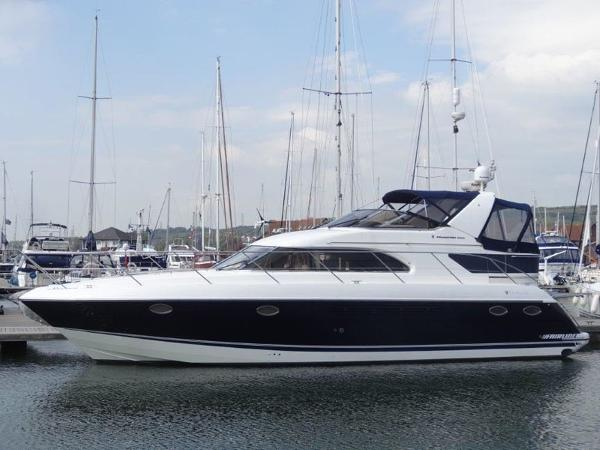Fairline Phantom 43 AC Hull - Port Side