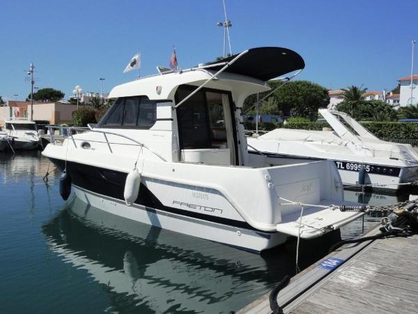 Faeton moraga 850 bateau vue d'ensemble