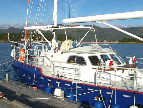 Bruce Roberts 52' Steel Ketch
