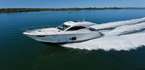 Maritimo C50 Sports Yacht Running Shot