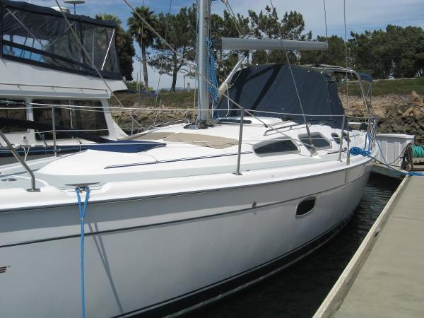 Hunter 36 Port Side
