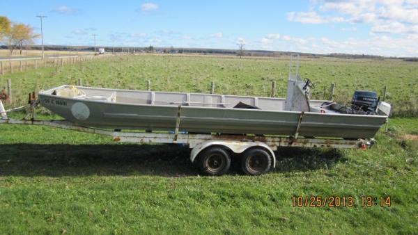 Open Commercial Fishing Boat Custom Built
