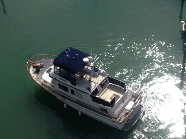 United Ocean Classic Trawler Waterside from above