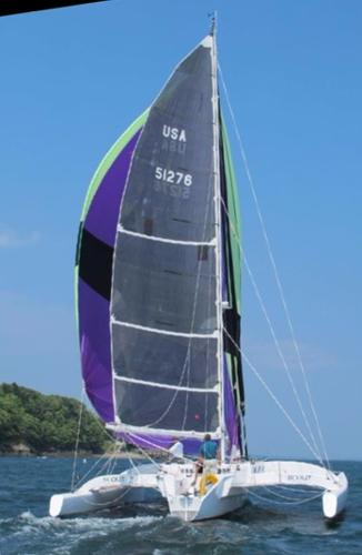 Greene Marine Custom Tri Scout Sailing