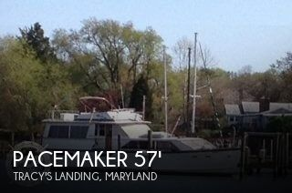 Pacemaker 57 Motoryacht 1978 Pacemaker 57 Motoryacht for sale in Tracy's Landing, MD