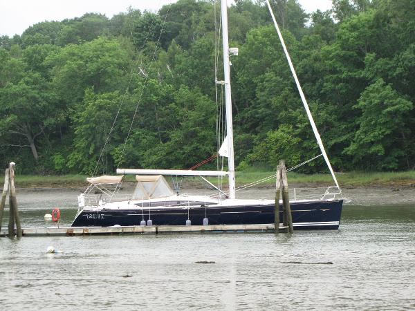 Jeanneau 53 At the dock side view
