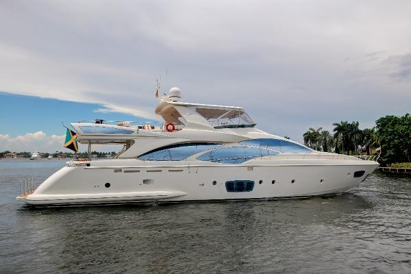Azimut 95 Flybridge Profile