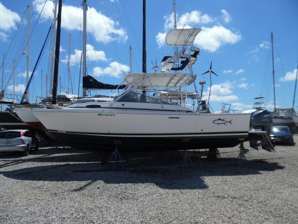 Blackfin Combi 29 Port Side