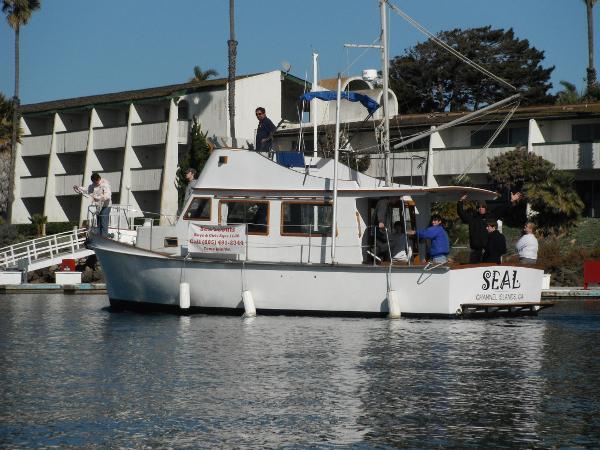 Cheoy Lee 35 Trawler BSA SEAL