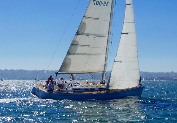 Grand Soleil 45 Vanquish Under Sail