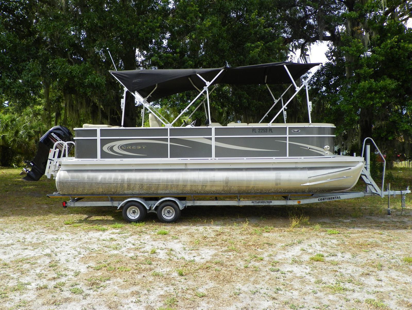Crest Pontoon Boats 230 CREST II