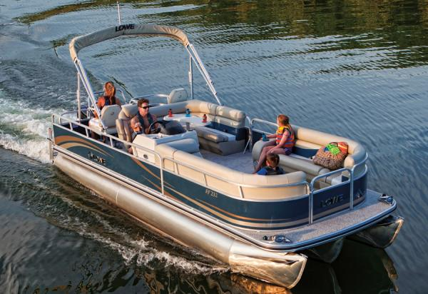 Lowe SF232 Sport Pontoon Manufacturer Provided Image