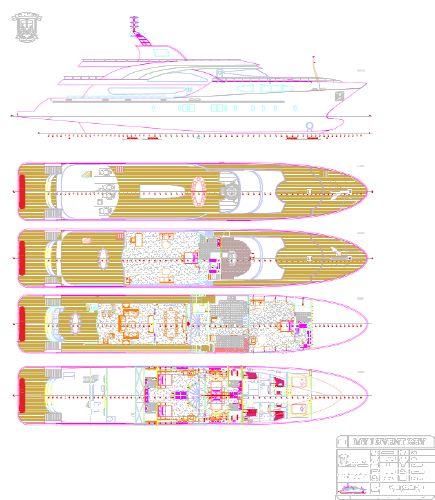 Miss Tor Yacht Custom 170 Layout