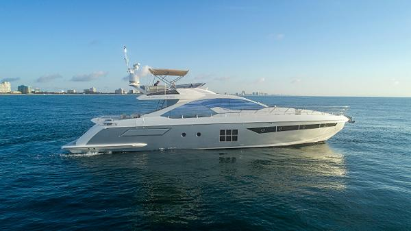 Azimut 77S w/ SeaKeepers/Gyros