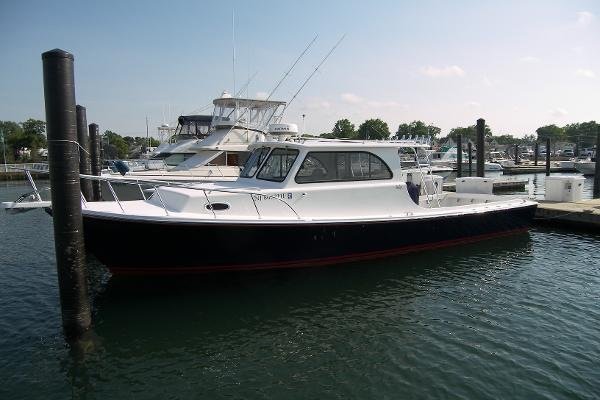 Judge Yachts Chesapeake 36 Port in water