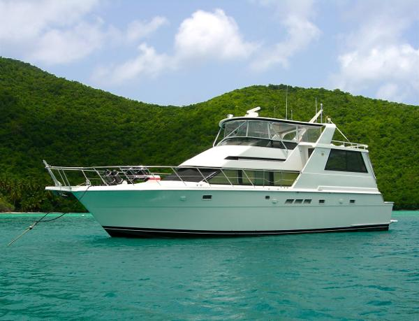 Hatteras Motor Yacht Fly Bridge