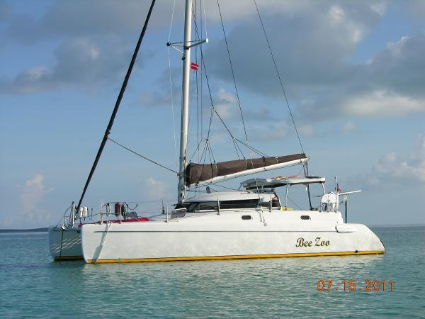 Fountaine Pajot Tobago At Anchor