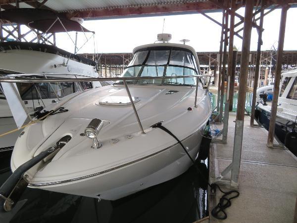 Sea Ray 330 Sundancer In her covered slip