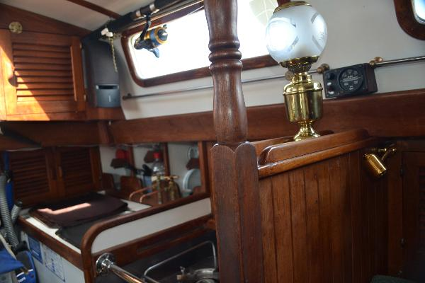 Looking aft in salon