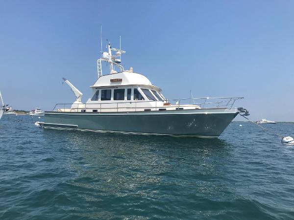 Snug Harbor Downeast deep V 50 with Rolls Royce Jets