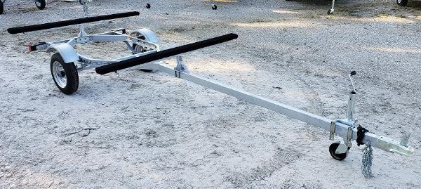 Magic Tilt Trailer Dual Kayak Paddle Board