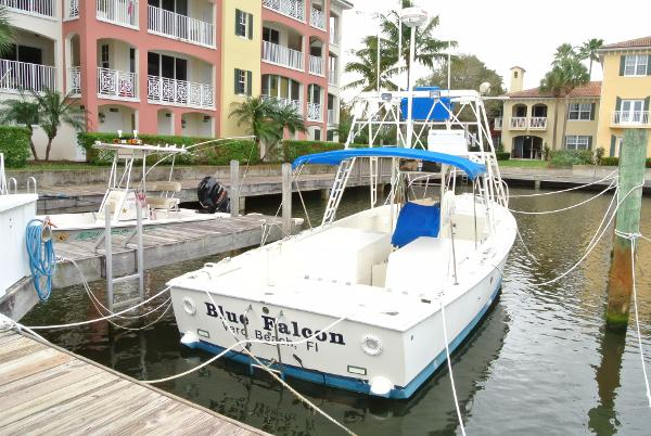 Bertram MOPPIE 31 Bertram Blue Falcon Quarter