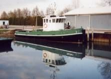 Steel Model Bow Tug Photo 1