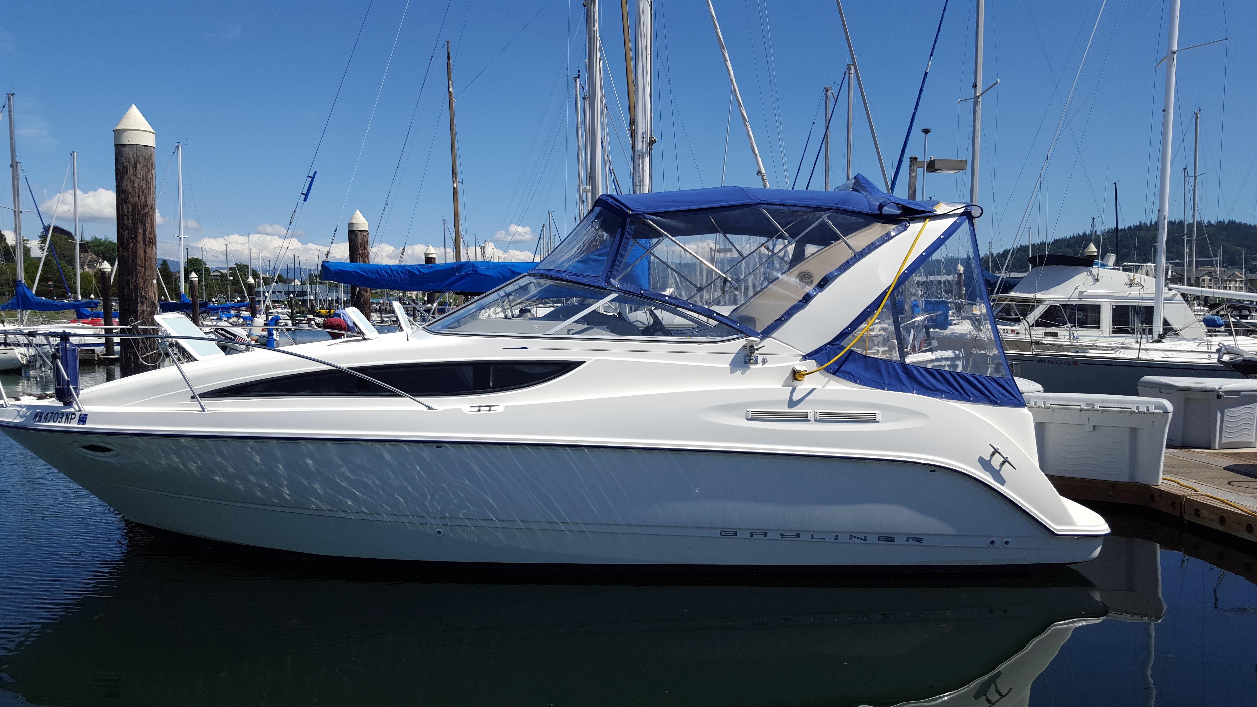Bayliner 2855 Ciera Boats For Sale Com Rh Au 2002 Cuddy