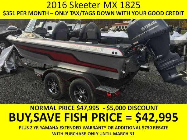 Skeeter MX 1825